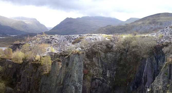 Glyn Rhonwy Snowdonia