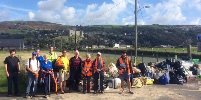 Harlech Beach Clean 2016