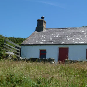 bardsey collage - cottage