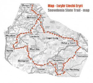 Slate Trail map